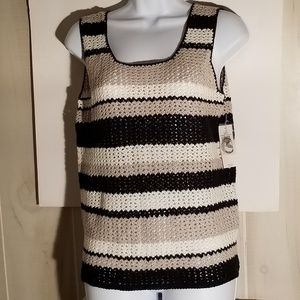 NWT crocheted top